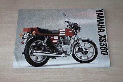 Yamaha Xs 360 Prospekt 197? Prospekte Expressive 194231 Anleitungen & Handbücher