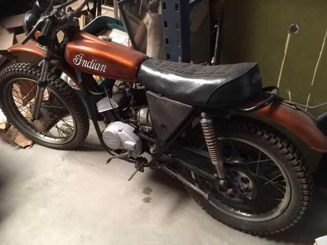 '70's Indian Enduro 100 Cc Runs Great