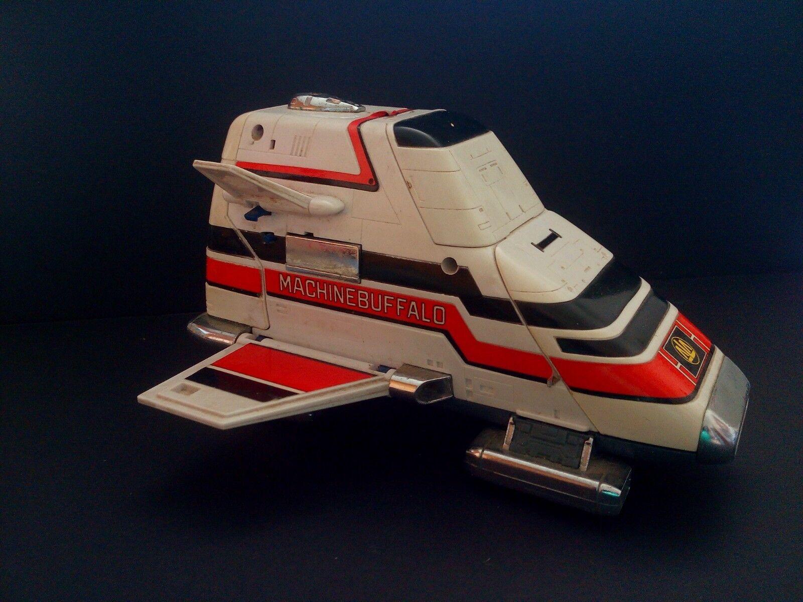 1988 Bandai Choujuu Sentai Liveman máquina Buffalo serie dx Popynica