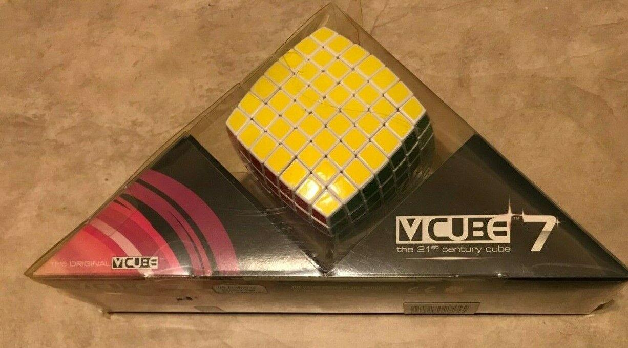 V-CUBE 7 Multicolor 7x7 Puzzle Cube NEW in box