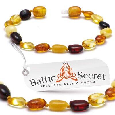 Baltischer Bernstein armband Bernsteinarmband Baby /& Erwachsenengrößen