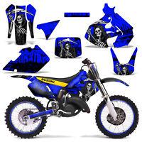 Suzuki Rm125 Graphics Kit Dirt Bike Decals Sticker Wrap Rm 125 99-00 Reap Blue