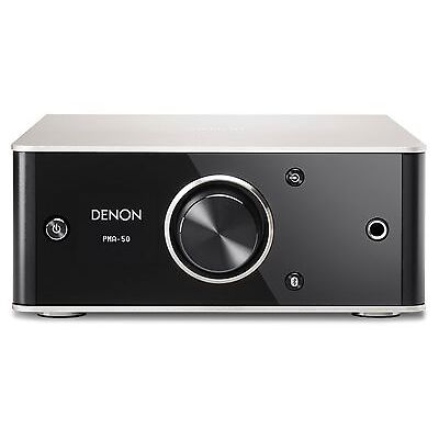 Denon PMA 50 Digital Amplifier with DAC and Bluetooth. Brand New.