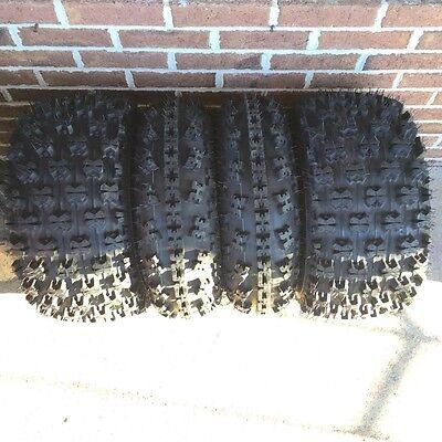 4 Tires 22x7-10 /& 20x10-9 ATV Tires For Yamaha Raptor 660 700 2001-2014