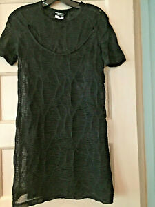 Details About Junya Watanabe Comme Des Garcons Black T Shirt Lace Top Dress M Japan