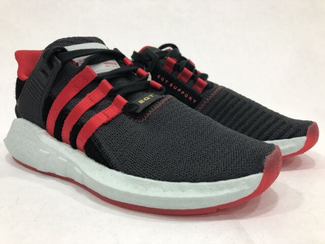7a22dc807be2d adidas Eqt Support 93/17 Yuanxiao Running Shoes Black - Mens - Sz 6
