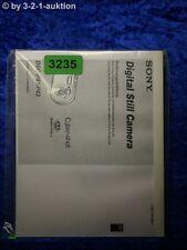 Sony Bedienungsanleitung DSC P41 /P43 Digital Still Camera (#3235)