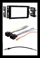 Double Din Car Radio Kit Combo For Select 2007-2011 Silverado Avalanche Sierra