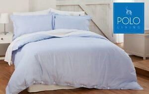 POLO-LUXURY-QUILT-COVER-SET-SKY-BLUE-COLOUR-100-COTTON-TAILORED-FINISH