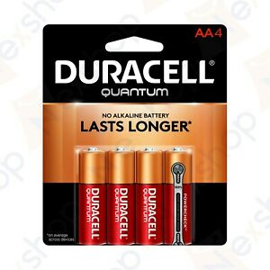 8x Duracell 1.5V Quantum Alkaline AA Ultra Advanced Batteries with Power Check