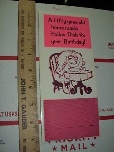 Image Is Loading XXX Dirty Birthday Card Greeting Comic Funny Peppermint