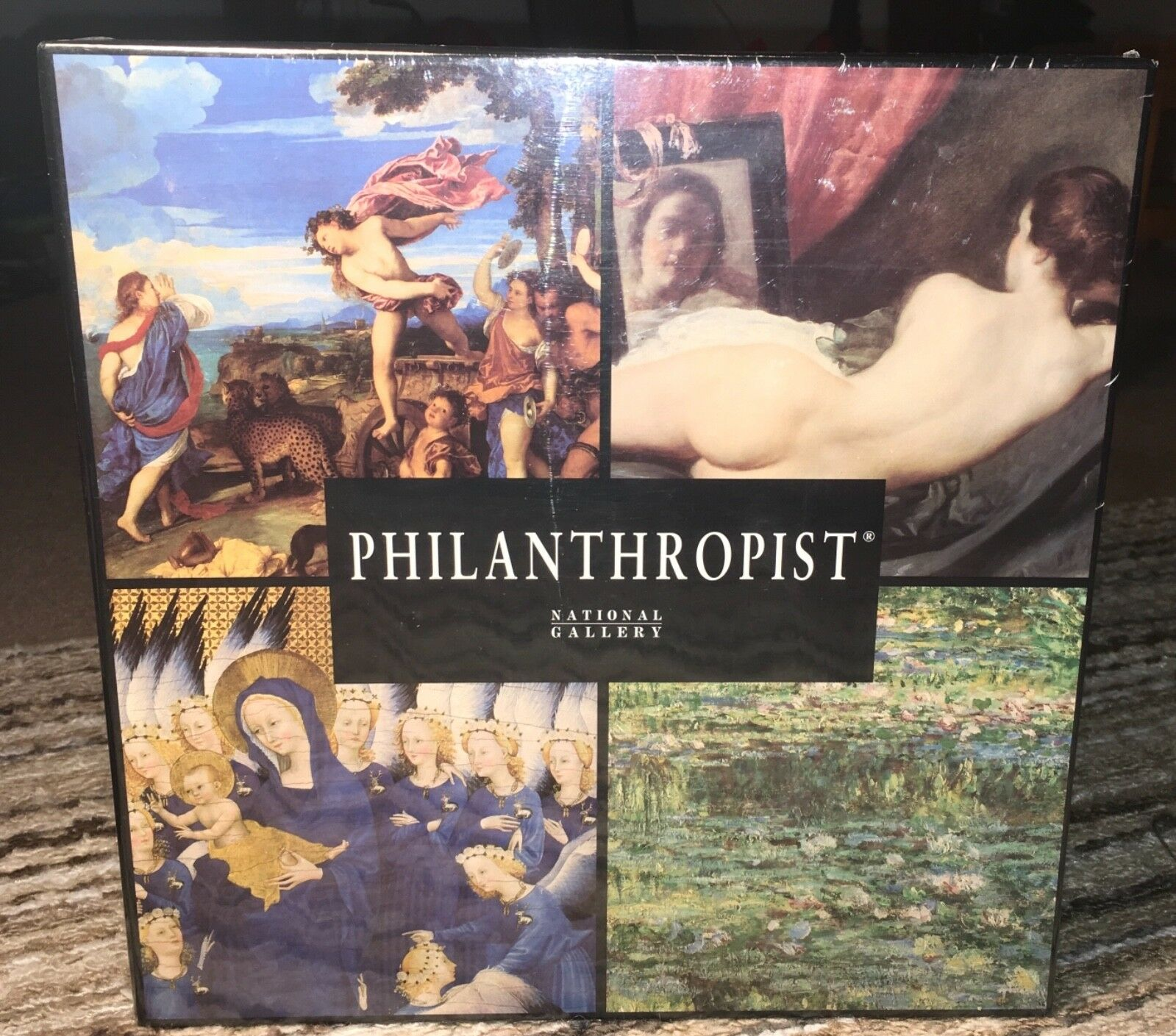 New Sealed Philanthropist The National Gallery, London Board Game Game Game Complete 1999 80cc43