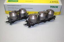 Trix 23992 Staubsilowagen-Set DB Wechselstrom Spur H0 OVP