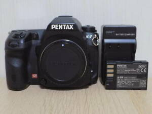 PENTAX-K-7-14-6MP-Digital-SLR-Camera-Body-from-Japan-Black-Tested-Free-Ship-JP