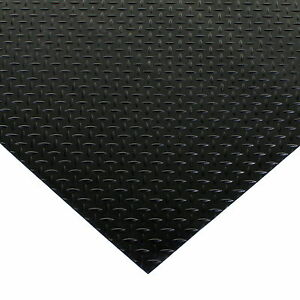 Rubber Floor Mats Garage Intended Image Is Loading Blackrubberflooringmattingheavydutyfloormat Black Rubber Flooring Matting Heavy Duty Floor Mat Garage Van Shed