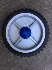 8 Inch Solid Hard Rubber Replacement Tire Wheel Rim Hub Dolly Hand Cart 1100 Lb