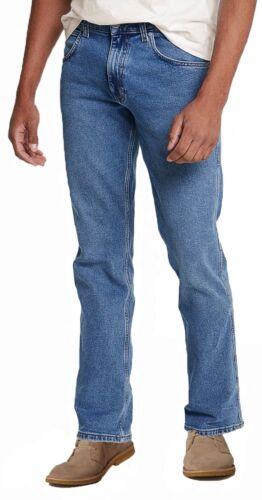 WRANGLER jacksville Regolari Jeans Bootcut Stretch Denim Gamba Stivale pietre Blues