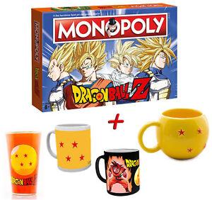 Monopoly Dragon Ball Z Zusatzartikel Jeu De Société Dragonball Neuf