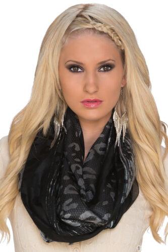 Damen Halstuch Tuch Schal mit Fransen Herbst Winter schön elegant Mode aktuell