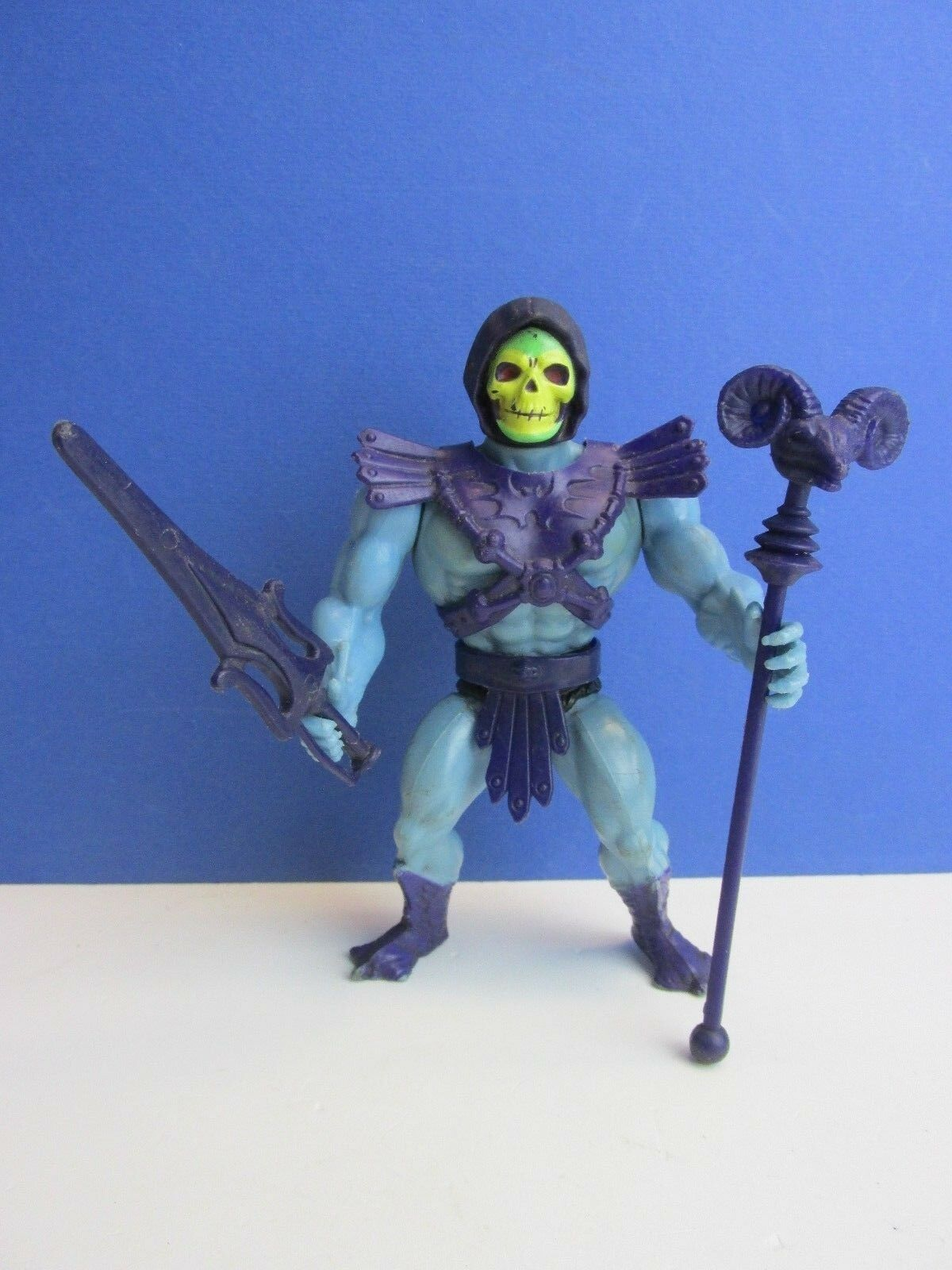 Vintage HE MAN SKELETOR ACTION FIGURE complete MOTU master of the universe 47E