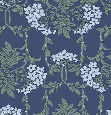 Orange Nouveau Mayflower 04775654Z Liberty Hesketh House 100/% cotton Fabric