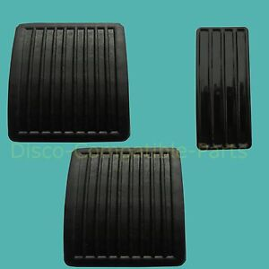 Land-Rover-Defender-Pedal-Rubber-Pad-Set-SKE500060-11H1781L-By-Allmakes