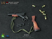 COOMODEL 1/6 Scale M79 Grenade Launcher Weapon Gun Model Toy Metal+Wood For T800
