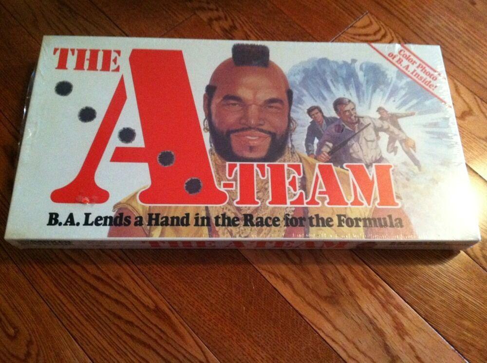 RARE FACTORY SEALED NM UNUSED 1984 TV A-TEAM MR. T BOARD GAME RARE CONDITION