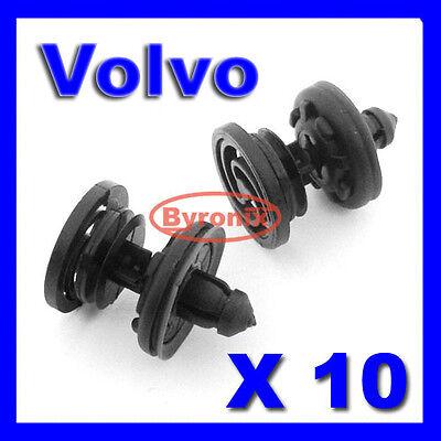 For CITROEN JAGUAR VOLVO interior door card panel floor body trim clips X10