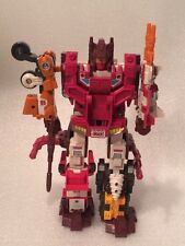 Vintage Transformers G1 Computron Original Complete Loose Technobots set 1987