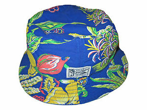 9c5202511fd Image is loading Polo-Ralph-Lauren-Royal-Blue-Reversible-Floral-Bucket-