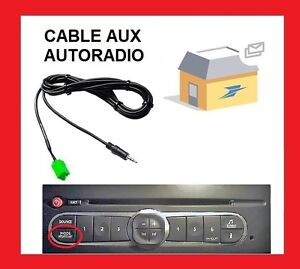 cable aux auxiliaire mp3 autoradio renault udapte list 6 renault laguna 2 ebay. Black Bedroom Furniture Sets. Home Design Ideas