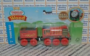 Thomas-Friends-Wood-Wooden-YONG-BAO-Train-FULLY-PAINTED-Fisher-Price-GGG63