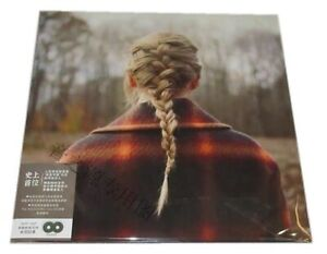 Taylor Swift Evermore China Global Exclusive PVC Cover With Series No. Free Gigt