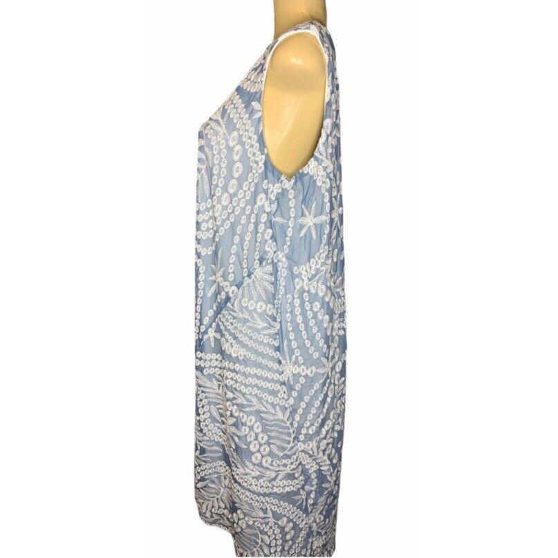 Naeem Khan Timeless Sleeveless Embroidered  Shift… - image 6