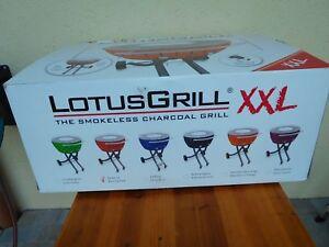 Rauchfreier Holzkohlegrill Xxl : Lotus grill xxl farbe feuerrot neu und orginalverpackt mit