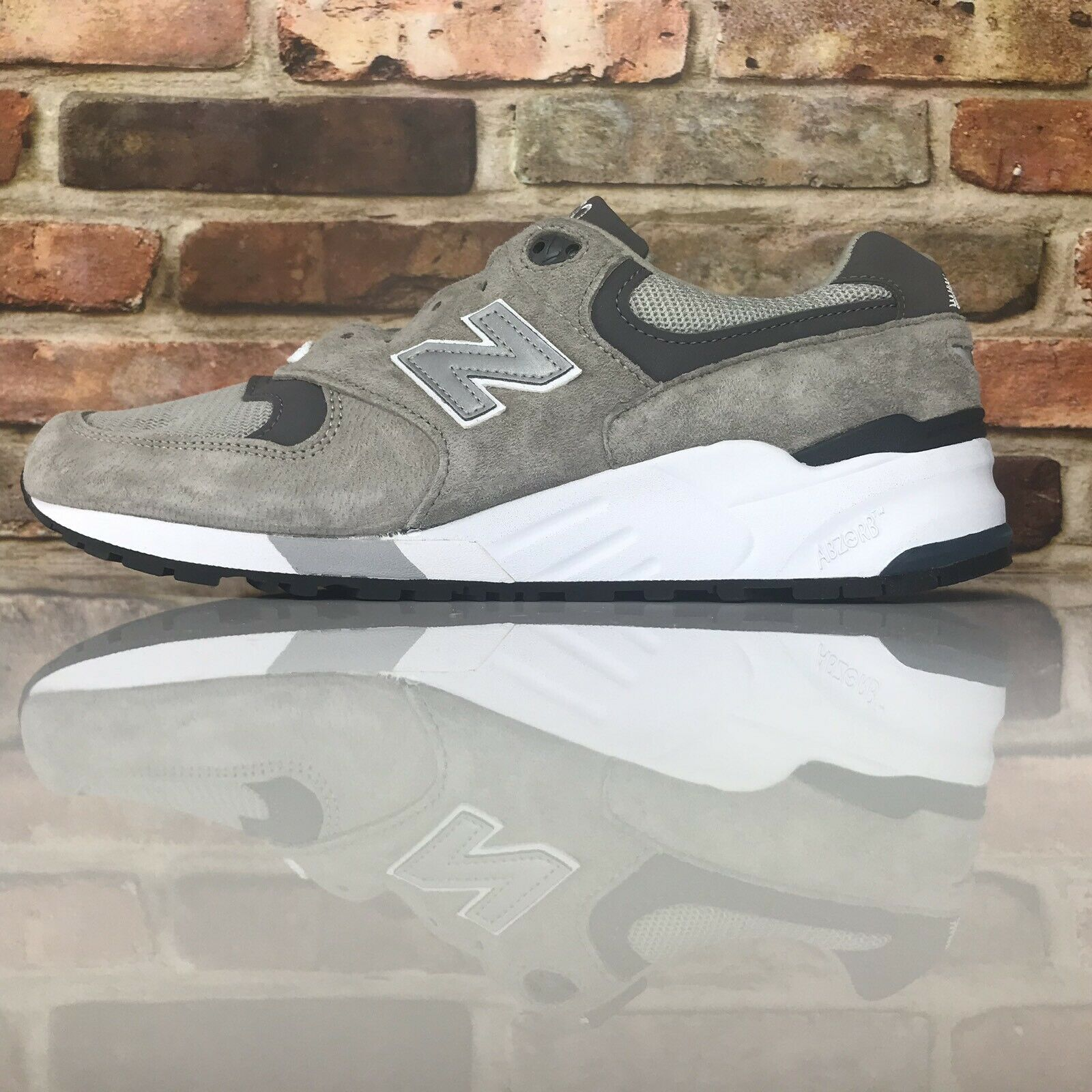New Balance 999 M999CGL Grey Pewter Running shoes Made in USA Mens Size 12 D