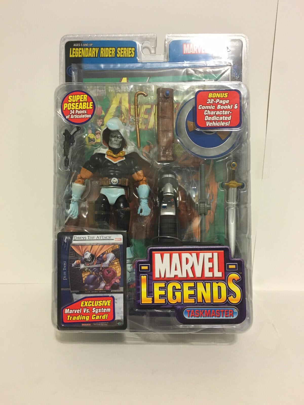 Toy Biz Marvel Legends TASKMASTER Legendary Rider Series Unopened