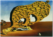 Das Ratsel der Begierde - Hand Painted Salvador Dali Oil Painting On Canvas