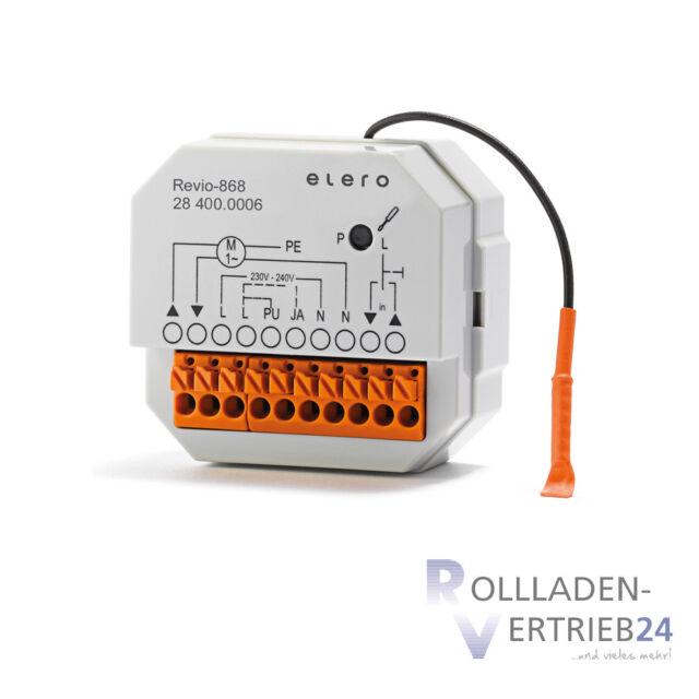Elero Revio 868 Récepteur de Radio Volets Auvents Accessoire Extension