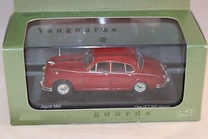 Vanguards-Corgi-VA-08403-Jaguar-MKII-carmen-red-mint-in-box