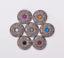 10X-Western-3D-Flower-Turquoise-Conchos-For-Leather-Craft-Bag-Belt-Purse-Decor miniature 12