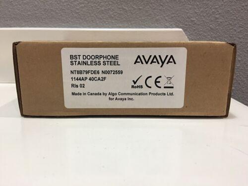 NEW Avaya Nortel Norstar NT8B79FDE6 BST Door Phone Stainless Steel