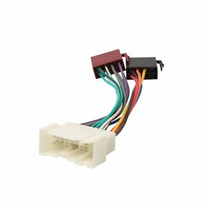 iso radio stereo harness adapter wiring connector. Black Bedroom Furniture Sets. Home Design Ideas