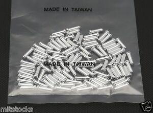 8 PCS BIKE ALUMINUM SHIFTER BRAKE CABLE TIPS CAPS ENDS CRIMPS 2.2mm