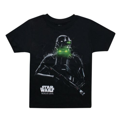 Star Wars-Death Trooper-officiel sous licence-garçon-T-Shirt Noir