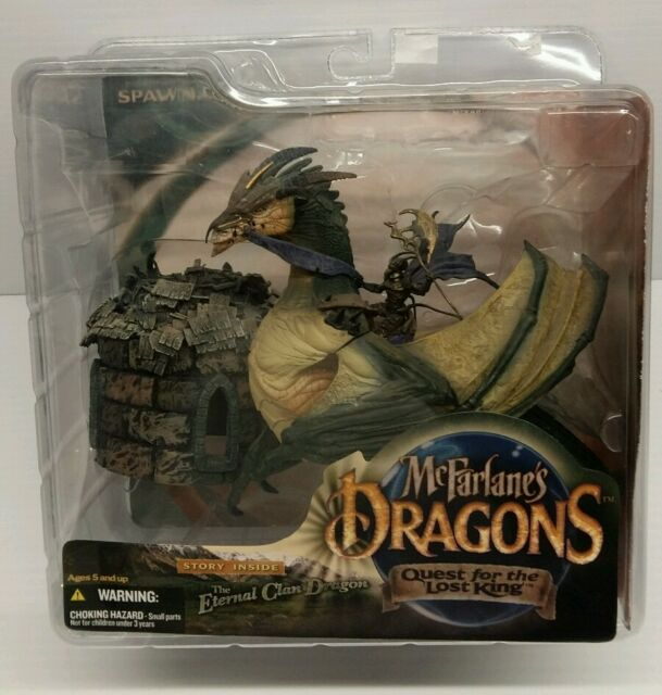 MCFARLANE'S DRAGON - Eternal Clan - Quest of the lost King - Action Figure