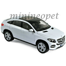 NOREV 183460 2015 MERCEDES BENZ GLE CLASS COUPE 1/18 DIECAST MODEL CAR WHITE