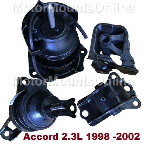 9R3519 4pc Motor Mounts fit Honda Accord 1998-2002 for 2.3L Engine AUTO Trans