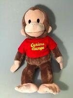 CURIOUS GEORGE Stuffed Monkey,GUND Curious George, Plush stuffed toy, EUC